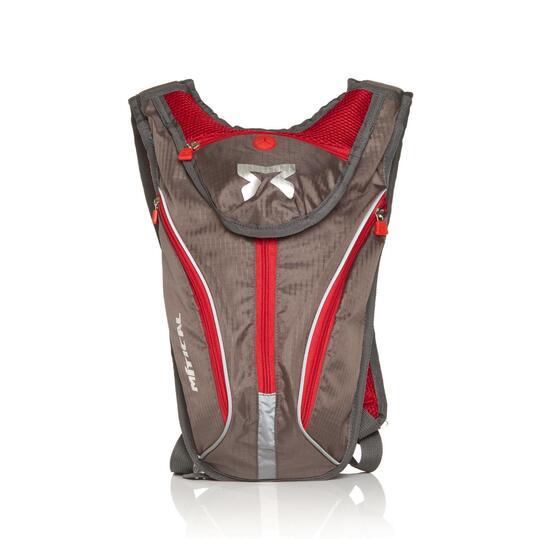 Mochila Hidratación MÍTICAL TAHOE 1,5 L. Negra Roja