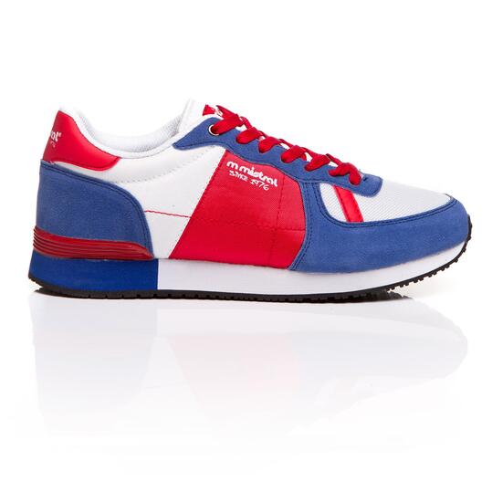 MISTRAL Sneakers Blanco Azul Hombre