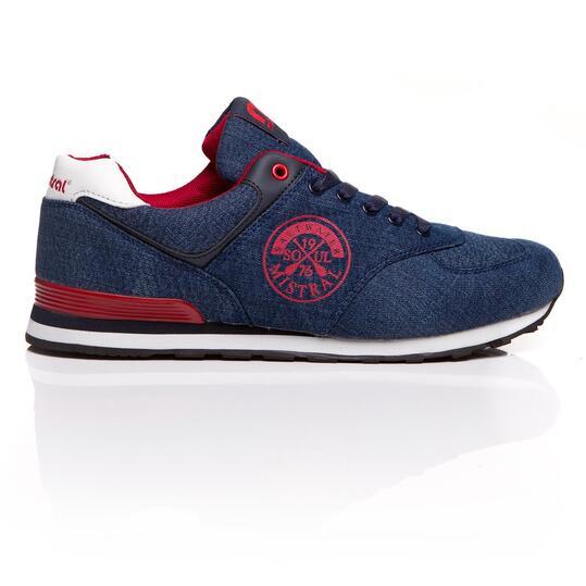 MISTRAL Sneakers Denim Hombre