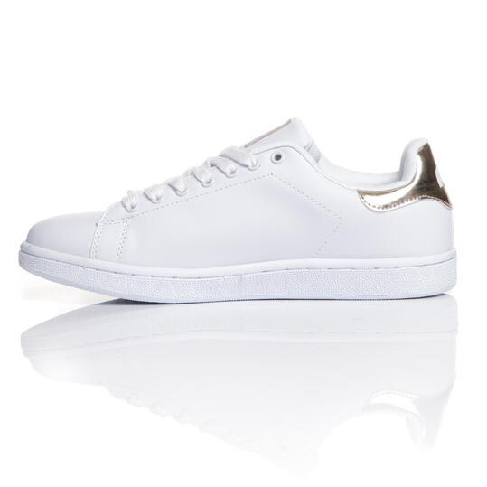 MISTRAL Zapatillas Casual Blancas Dorado Hombre