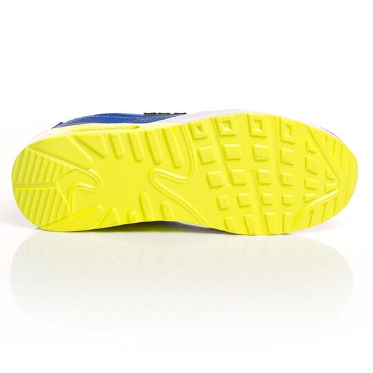 MISTRAL Zapatillas Deportivas Cámara Aire Azul Mujer