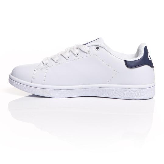 MISTRAL Zapatillas Casual Blancas Marino Mujer