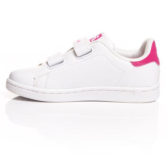 MISTRAL Zapatillas Casual Blanco Rosa Niña (30-35)
