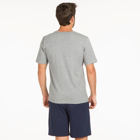 PUMA HERO LOGO Camiseta Gris Hombre