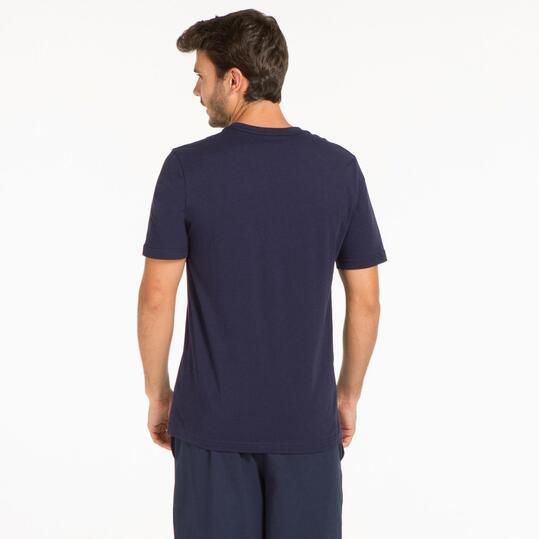 PUMA HERO LOGO Camiseta Marino Hombre