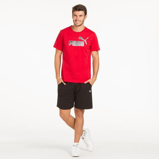 PUMA HERO LOGO Camiseta Rojo Hombre