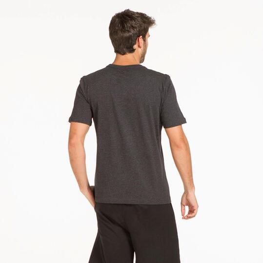PUMA HERO LOGO Camiseta Gris Oscuro Hombre