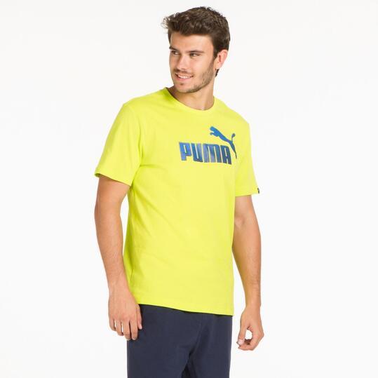 PUMA HERO LOGO Camiseta Lima Hombre