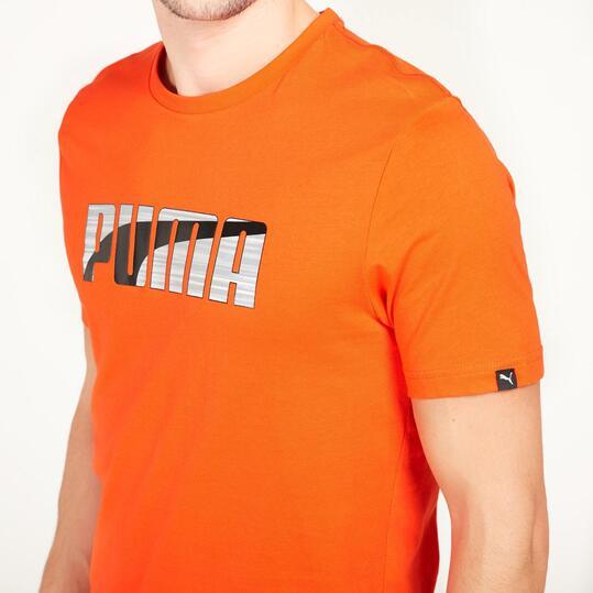 PUMA HERO Camiseta Naranja Hombre