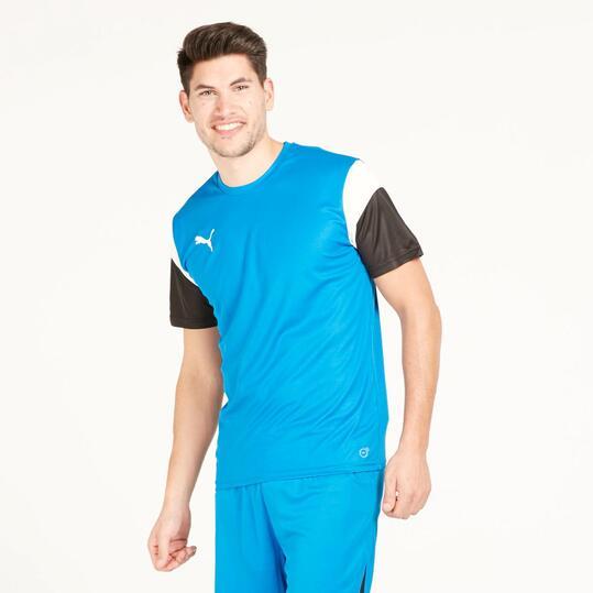 PUMA Camiseta Fútbol Azul Hombre