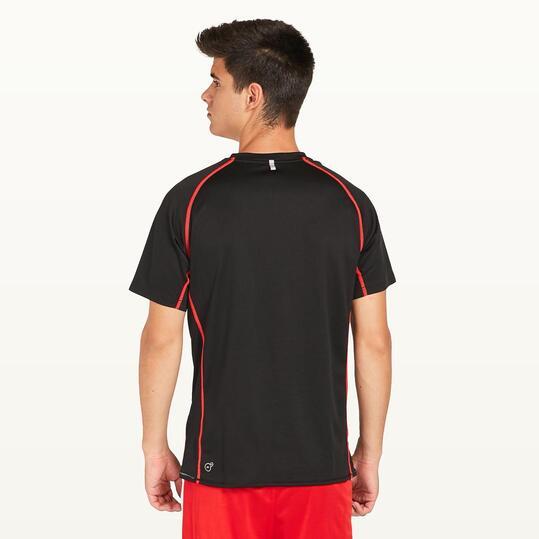 PUMA Camiseta Running Negra Hombre