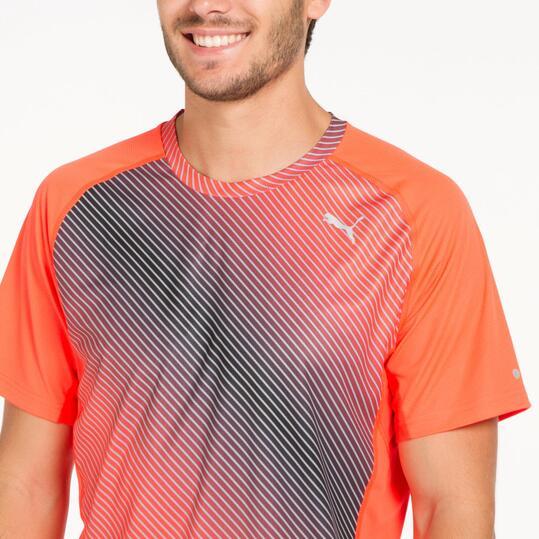 PUMA GRAPHIC Camiseta Running Naranja Hombre