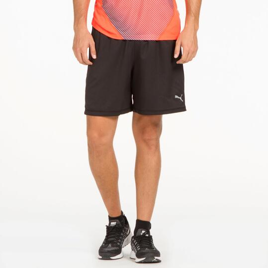 PUMA Pantalón Corto Running Negro