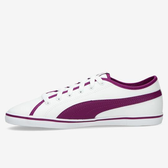 PUMA ELSU Zapatillas Casual Blancas Niña (36-39)