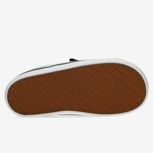 PUMA ELSUS Zapatillas Casual Negras Velcro Niño (20-27)
