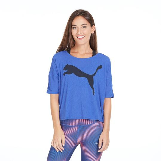 PUMA Camiseta Holgada Gym Mujer