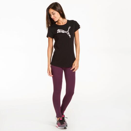 PUMA COLLISION Camiseta Gris Mujer