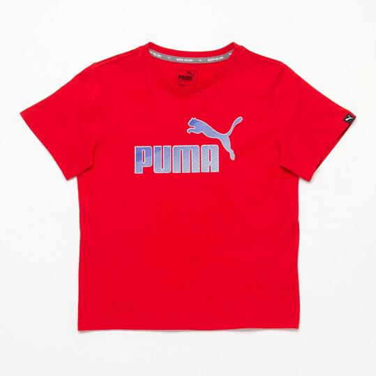 PUMA HERO Camiseta Rojo Niño (8-16)