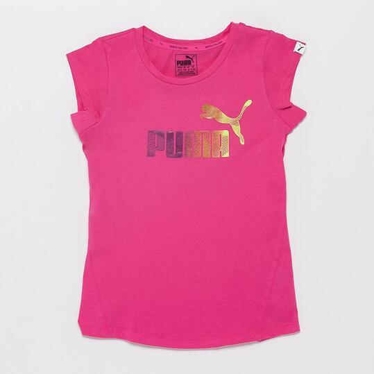 PUMA Camiseta Rosa Niña (10-16)