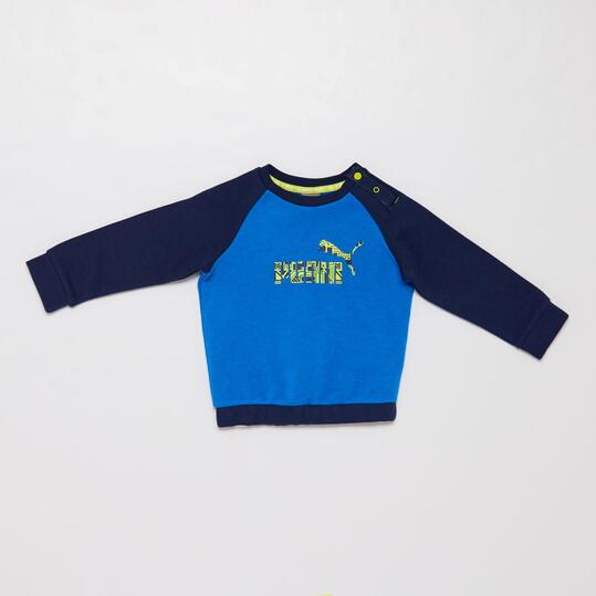 PUMA MINICAT Chándal Azul Bebé (12m-36m)