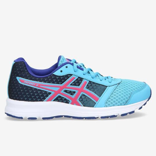 ASICS PATRIOT 8 Zapatillas Running Celeste Mujer
