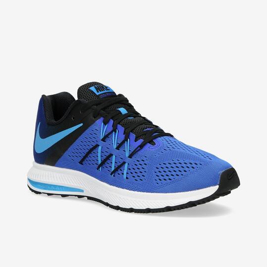 NIKE WINFLO 3 Zapatillas Running Azul Hombre
