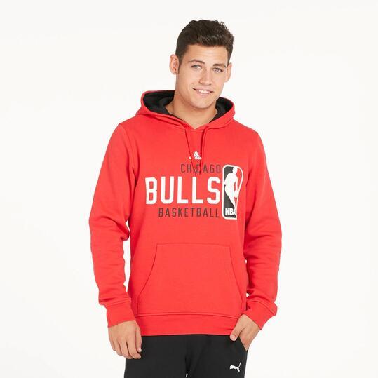 ADIDAS NBA BULLS Sudadera Roja Niño (10-16)