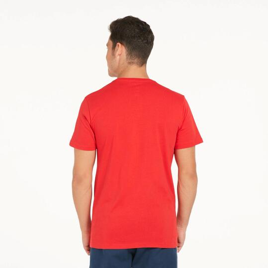 ADIDAS BULLS Camiseta NBA Roja Hombre
