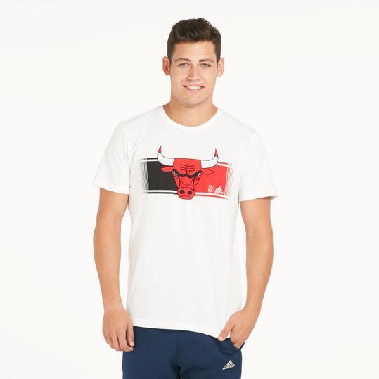 ADIDAS NBA BULLS Camiseta Manga Corta Hombre