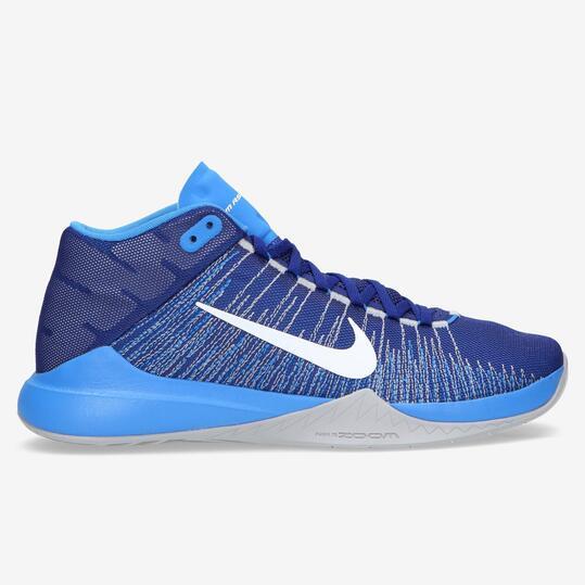 NIKE ZOOM ASCENTION Zapatillas Basket Azul Hombre
