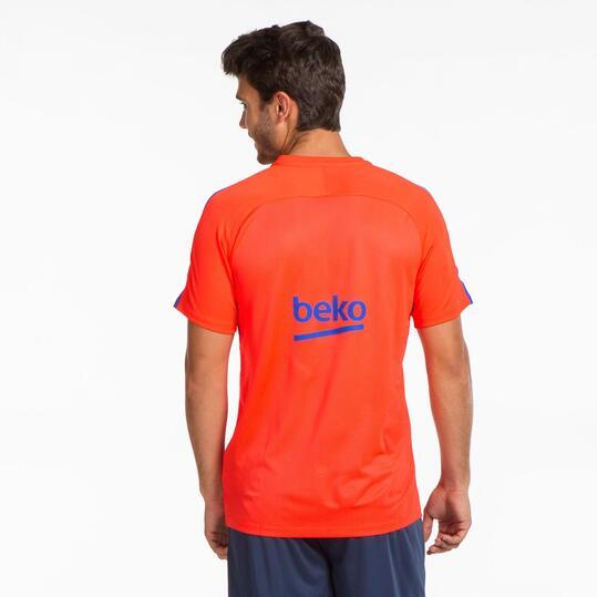 NIKE BARÇA Camiseta Entreno Hombre