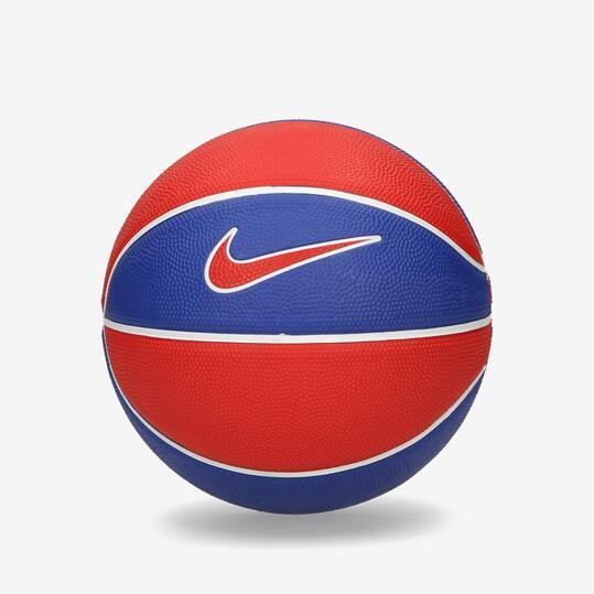 NIKE SWOOSH Minibalon Basket Azul Rojo