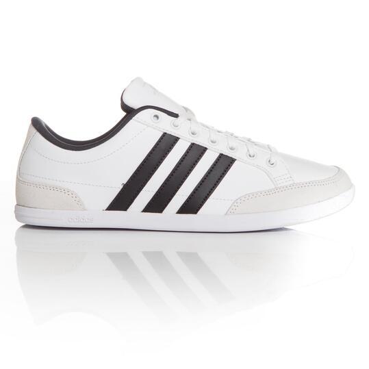 zapatillas adidas hombre casual blancas