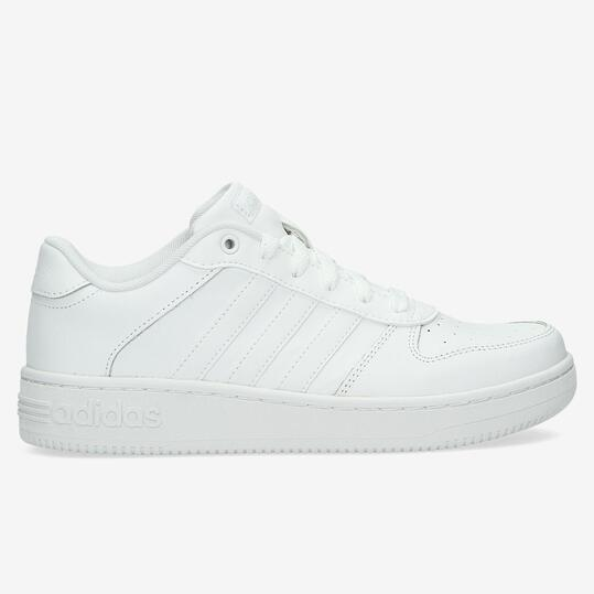 ADIDAS TEAM COURT Zapatillas Casual Blancas Niña (36,5-40)