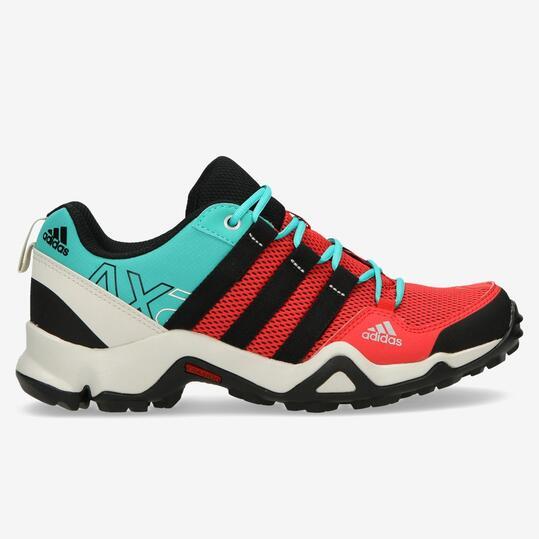 ADIDAS AX2 Zapatillas Montaña Rojo Azul Mujer