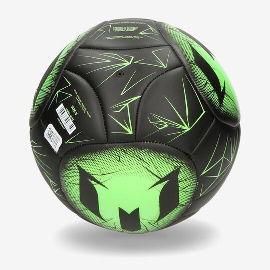 ADIDAS MESSI Balón Fútbol Negro Verde