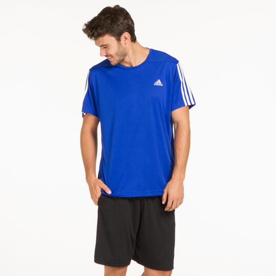 ADIDAS Camiseta Running Marino Hombre