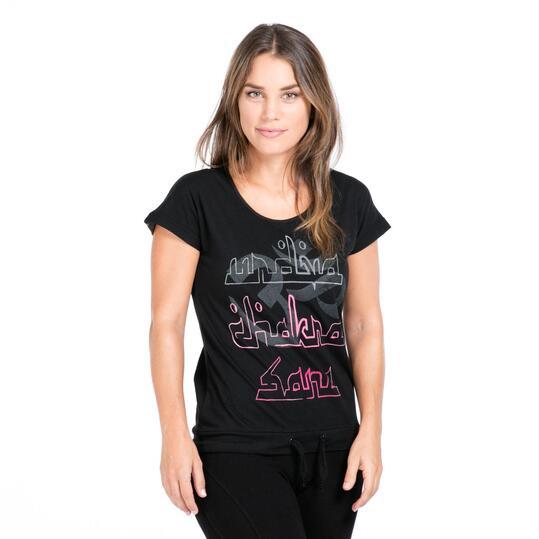 Camiseta Gym ILICO ZEN Negro Mujer