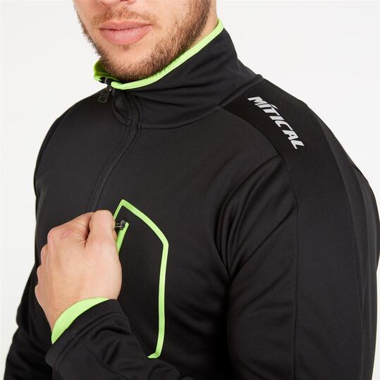 Chaqueta Ciclismo MÍTICAL PLATA Negro Verde Hombre