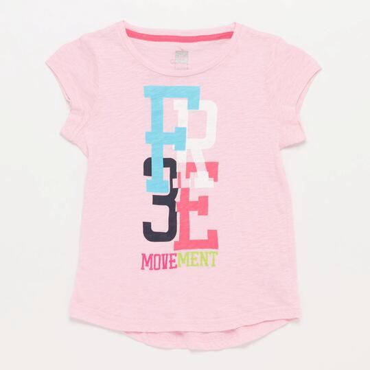 Camiseta Yoga ILICO Rosa Niña (10-16)