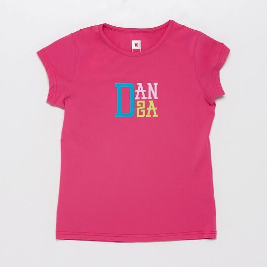 Camiseta Gymnasio ILICO Fucsia Niña (10-16)