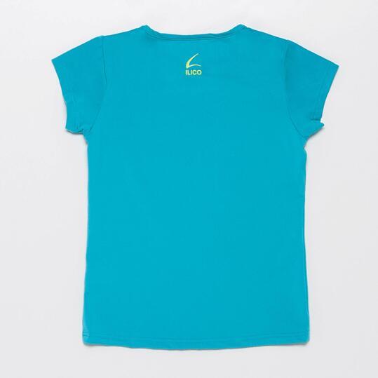 Camiseta Gymnasio ILICO Turquesa Niña (10-16)