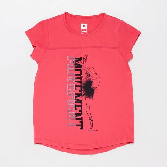 Camiseta Gymnasio ILICO Fresa Niña (10-16)