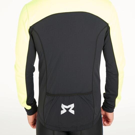 Chaqueta Ciclismo MÍTICAL PLATA Negro Amarillo Hombre