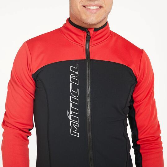 Chaqueta Ciclismo MÍTICAL PLATA Negro Rojo Hombre