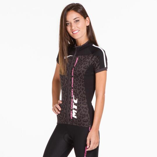 Maillot Ciclismo MÍTICAL Animal Print Mujer