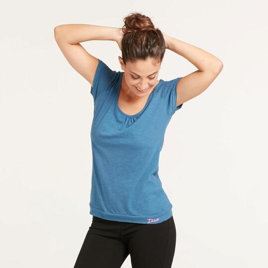 Camiseta Gym ILICO Denim Mujer