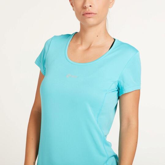Camiseta Running IPSO BASIC Turquesa Mujer