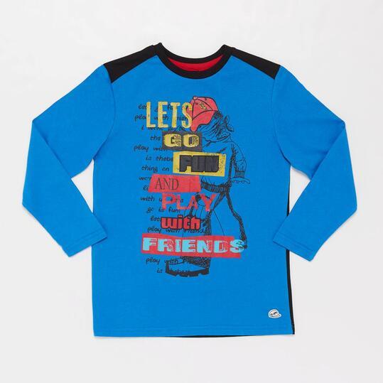 Camiseta Manga Larga URBAN SILVER Niño (10-16)
