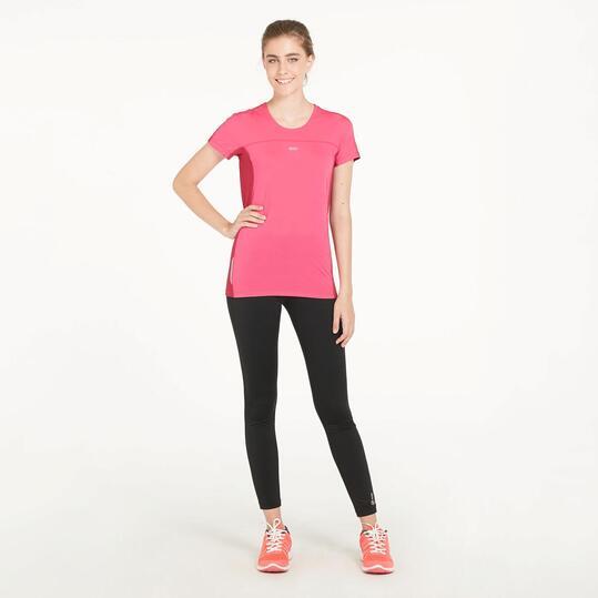 Camiseta Running IPSO COMBI Fucsia Mujer